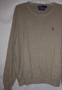 POLO Ralph Lauren Wheat Cotton Pullover L